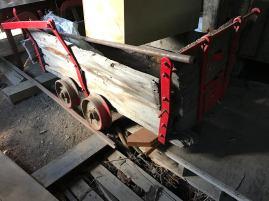 Historic mining cart